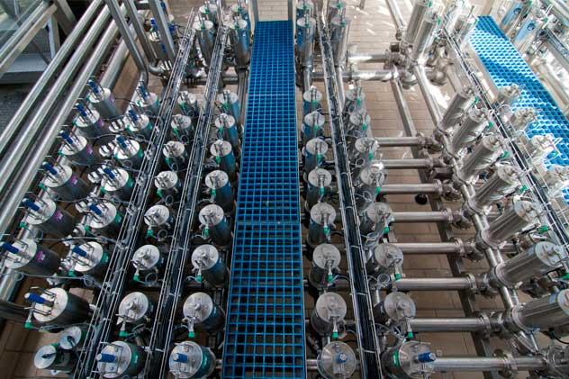automatizacion fabrica de leche celta nudo de valvulas